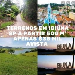 Terreno no interior de São Paulo com ótima localização a 700 metros da represa