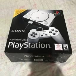 PlayStation Classic na caixa - Retira no Morumbi