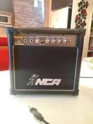 Amplificador com distorção NCA Cubo Caixa de som para guitarra