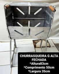 CHURRASQUEIRA TODA DESMONTÁVEL A PARTIR DE 125 REAIS