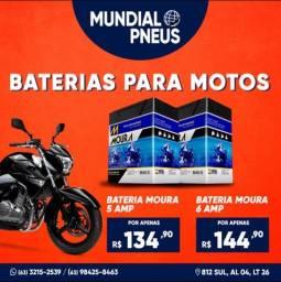 Promoção Baterias moto