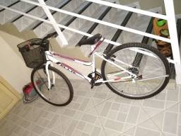 Bicicleta aro 26 18 marcha zero nunca usada sem uso