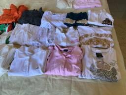 O lote roupas selecionadas 27 peças femininas ,n M e G nova e semi P/brecho lindas
