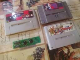 Lote cartuchos Super Nintendo