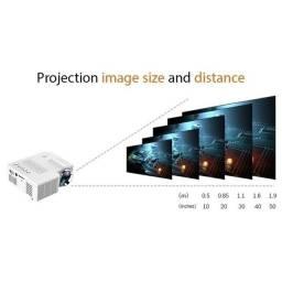 "UC28C Projetor ""projetor de vídeo portátil e projetor HD1080P LED"
