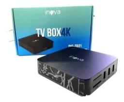Tv Box Android Modelo Novo Netflix, Youtube e Muito mais