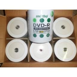 CDs e DVD novos para gravação