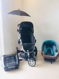 Carrinho de bebê quinny buzz e bebê conforto maxi-cosi