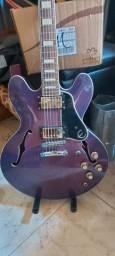 Guitarra golden com captação Epiphone