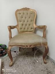 Cadeira estilo Luis xv