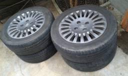 """Roda 15"""" 4x108 com pneus"""