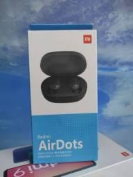 GRANDIOSO! Redmi Air Dots da Xiaomi.. Novo Lacrado com Garantia e Entrega hj