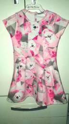 Vestido lilica original tamanho 3p