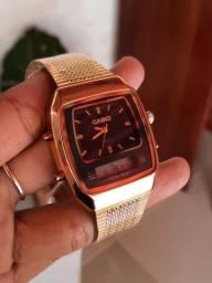 Relógio Casio 2 em 1 (FAÇO ENTREGA)