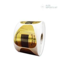 Molde Adesivo para Alongar as Unhas Gel Fibra Nails