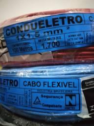 FIO ELÉTRICO FLEXIVEL (cobre)   OFERTAS