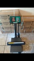 Balança de plataforma eletrônica 150 kg novas