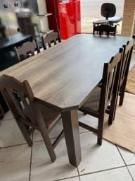 Mesa nova de 6 cadeiras