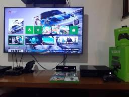 Vendo Xbox One Fat c/ Kinect - controle - 6 jogos - em excelente estado
