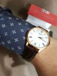 Relógio tissot ORIGINAL com nota fiscal  troco