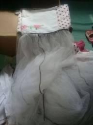 Kit completo de berço menina 6 pecas