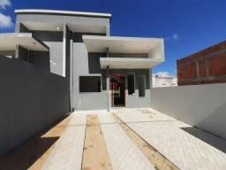 RB- Casa sobrado geminada com dois dormitórios!