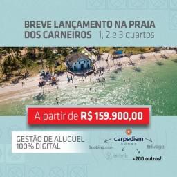 CJ Lançamento na Praia de Carneiros. Aptos de 1,2 e 3 quartos