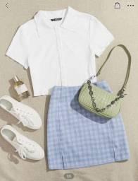 Vendo conjunto de saia e blusa
