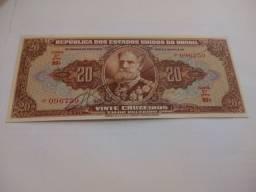 Cédula C083 - CR$ 20.00 Autografada - Ano 1950 - FE