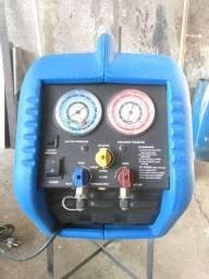 Máquina recolhedora de gás