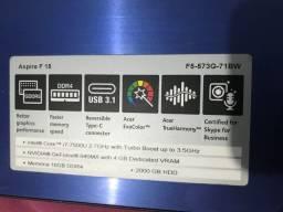 Notebook Gamer - Acer