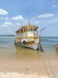 Barco 45 passageiros e carga