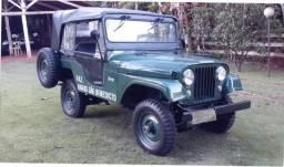 Jeep Willys, raridade. Um belo exemplar dos anos 60