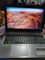 Notebook acer i5 com placa de video