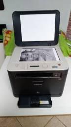 Impressora Multifuncional laser color Samsung Clx3185N