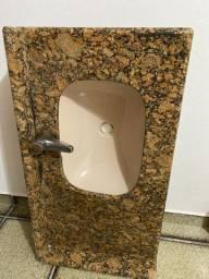 Pia de mármore Banheiro