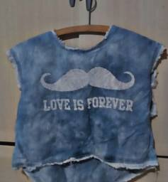 Blusa Love is forever