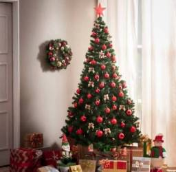 Arvore de Natal 1,20m decorada!