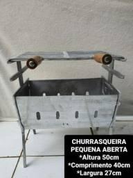 CHURRASQUEIRAS DESMONTÁVEL APARTIR DE 125 REAIS