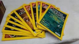 Coleção de revista National geografit 12 unidade anos 2001 até 2017