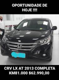 Linda CRV LX 2013, 89.000 km, Flex *