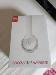 Fone beats solo wireless 3 - lacrado 1 ano de garantia