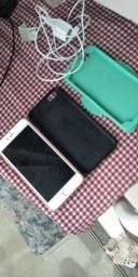 iPhone 6plus sem detalhes e um a30