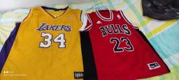 5 camisas de basquete original