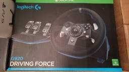 Volante Logitech G920 muito novo, na caixa.