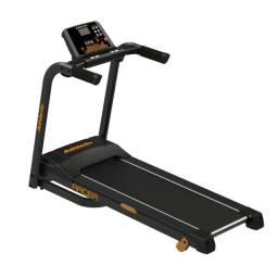 Esteira Athletic racer 16km/h - 130kg - amortecedor externo - dobrável