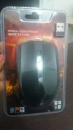 Mouse sem fio shertech -808