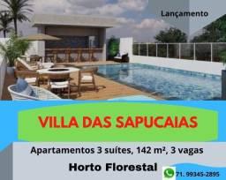 Residencial Villa das Sapucaias, 3 suítes, 142 m², 3 vagas, no Horto Florestal