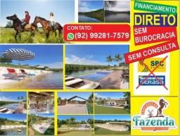 Terreno 10x30 => a Fazenda Ideal para morar ou investir, entrada facilitada!