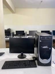Computador Completo - CPU, Monitor, Teclado e Mouse